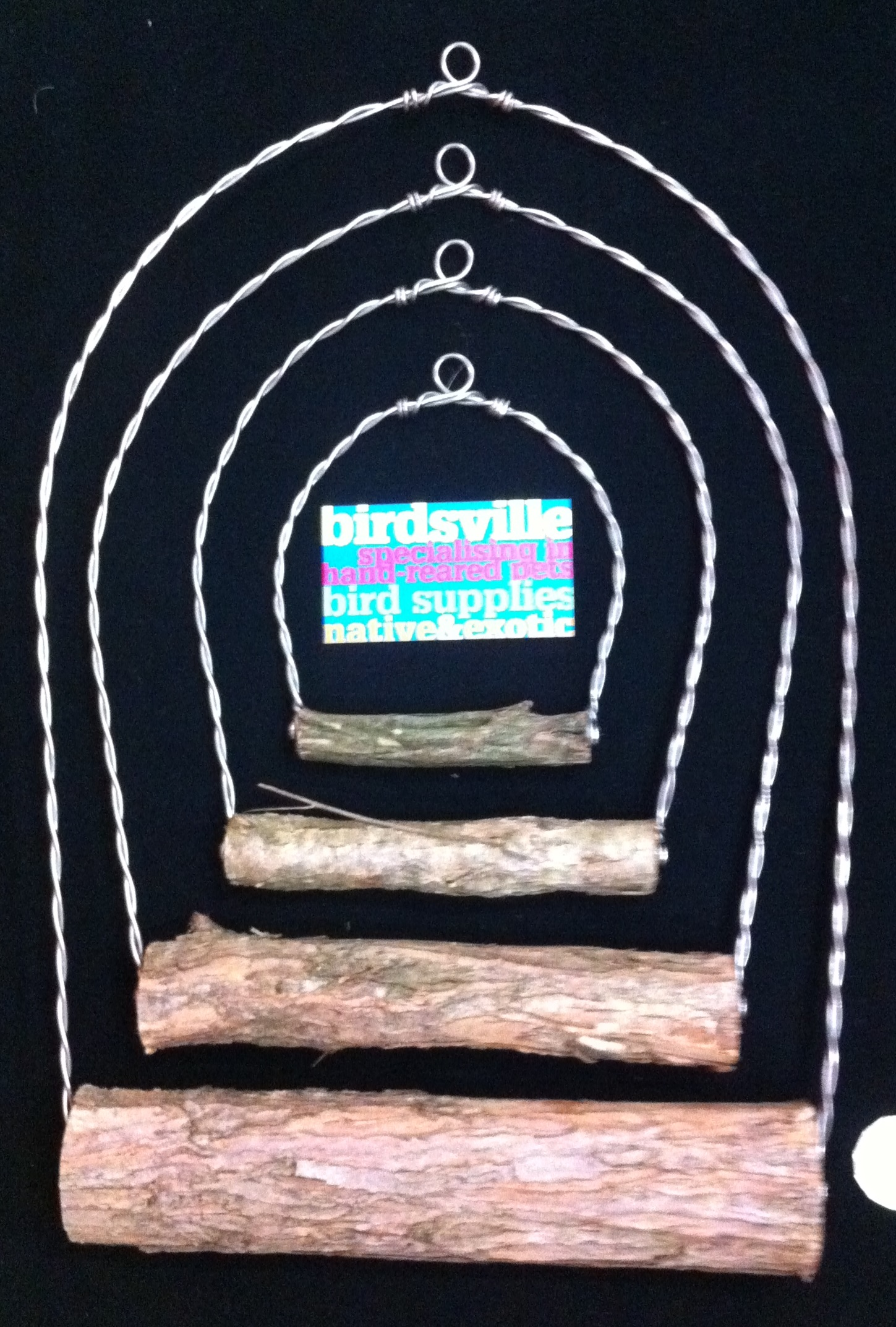 Nature Wood & Wire Swing 2