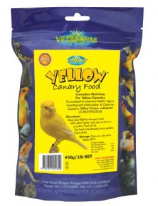 Vetafarm Yellow Canary Food